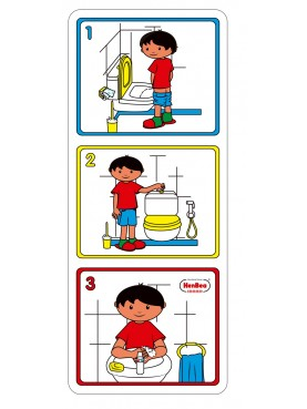 Carteles de higiene.