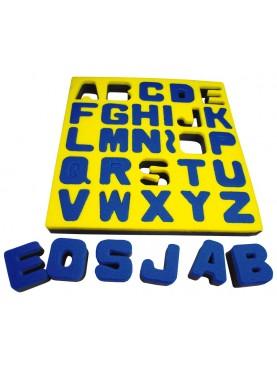 Éponges Alphabet majuscules