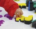 Esponjas de impresión de Minúsculas