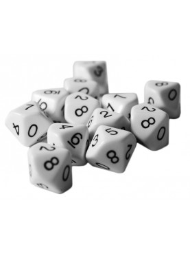 12 - Ten sided dice