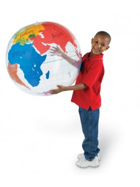 Globe de Terre Gonflable