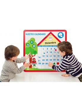Notre calendrier magnétique
