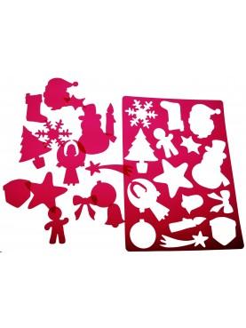 Super Stencil Christmas
