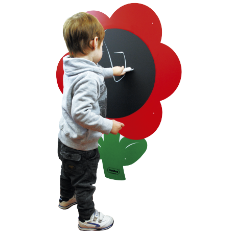 Magnetic Giant Flower Chalkboard