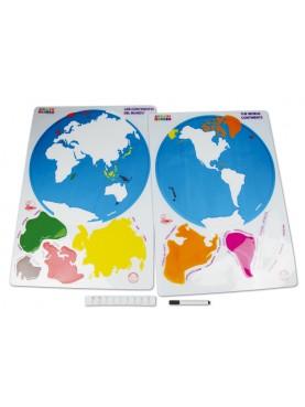 Endecke die Kontinente der Welt