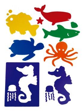 Sea Animal Stencils