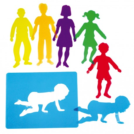 Translucid Stencils Family