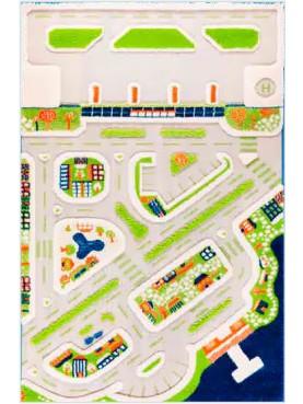 3D Teppich: Mini City