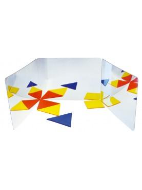 Tri-fold Mirror book