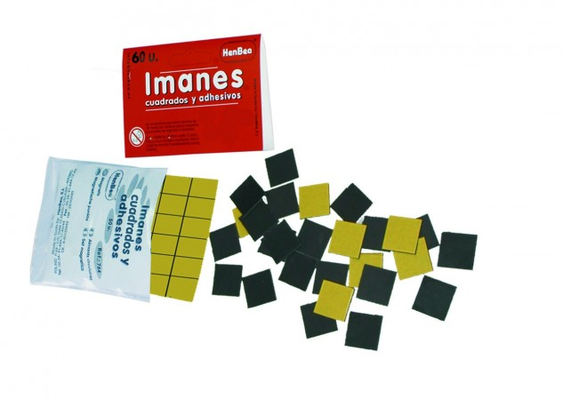 Imanes adhesivos