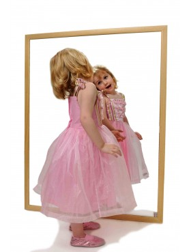 Kinderspiegel-Naturholz