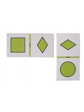 Dominó de figura geométricas