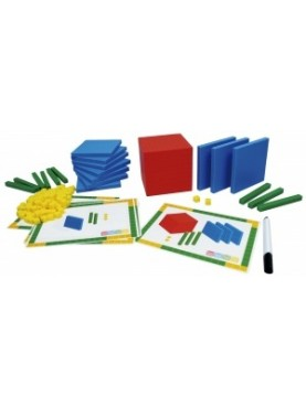 Base 10 Blocks + Activity Cards