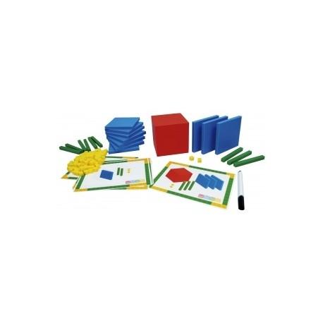 Base 10 Blocks + Activity Cards