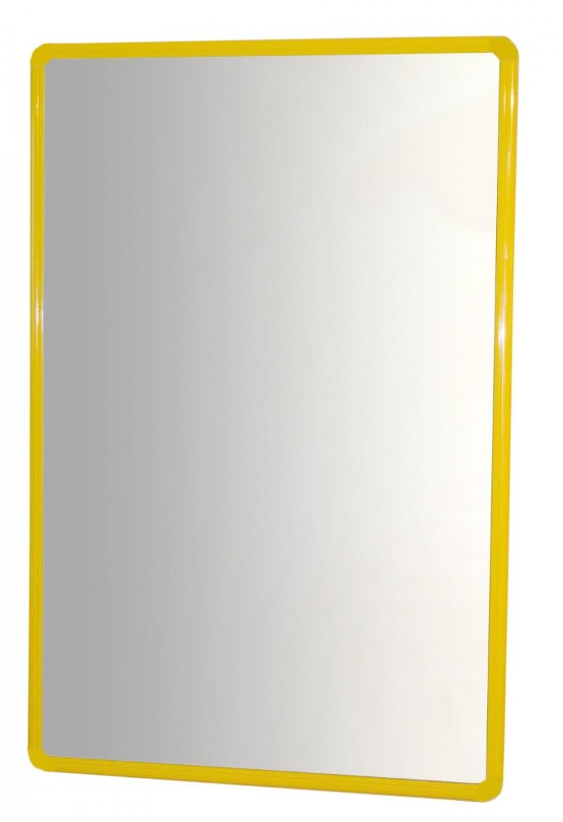Espejo con marco de aluminio (100x65cm) - Snap-Edulink, S.L