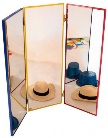 Un miroir triptyque - Henbea Store