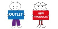 OUTLET AND NEW PRODUCTS